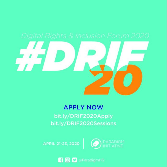 Call for Application : Digital Rights and Inclusion Forum