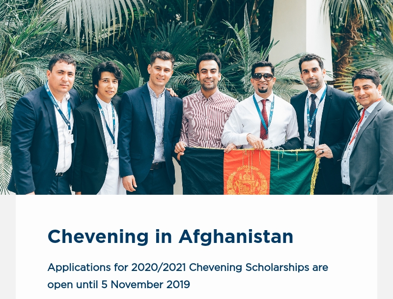 Chevening UK Government Scholarships Programme 2020/2021 ...