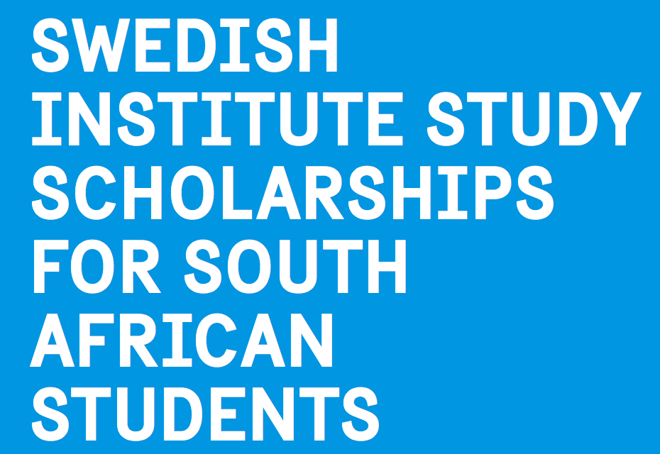 Swedish Institute Study Scholarships (SISS) for South ...