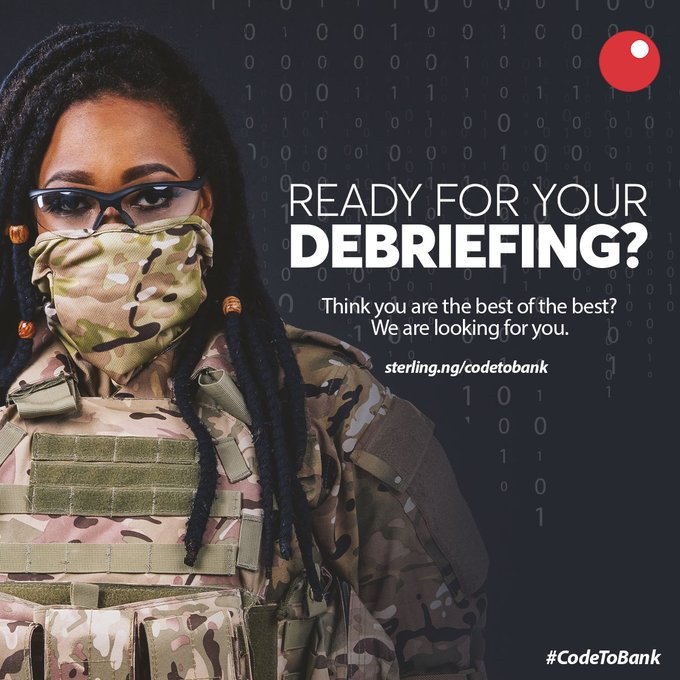 Sterling Bank Code to Bank Challenge 2020 for Nigerian Coders