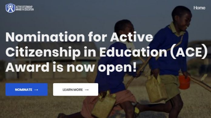 Active Citizen in Education Award 2020 for Nigerian Youths