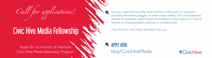 BudgIT Civic Hive Media Fellowship Program 2020 (Stipend of N150,000)
