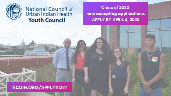 National Council of Urban Indian Health's Youth Council Class 2020