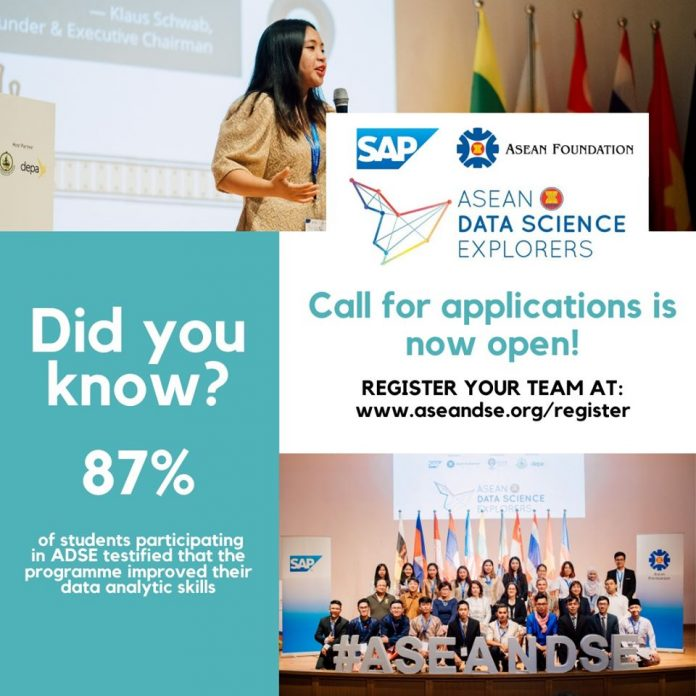 SAP ASEAN Data Science Explorers (ADSE) 2020 for Asean Youths