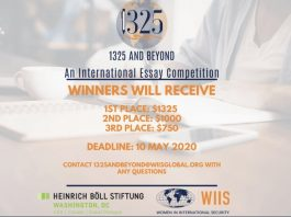 WII and Beyond International Graduate Student Essay Competition 2020