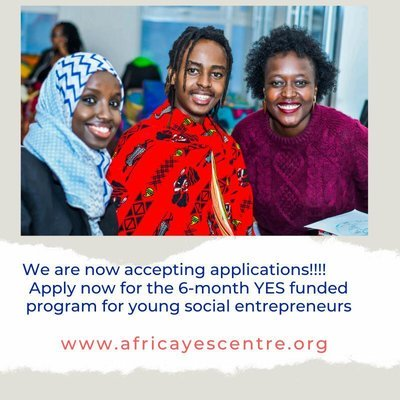 Apply for the YES 2020 Social Entrepreneurship Program (Cohort 3) for young Africans