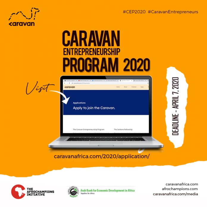 Caravan Africa Entrepreneurship Program 2020 for Ghana Youths