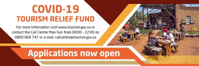 Department of Tourism COVID-19 Tourism Relief Fund for South Africa Entrepreneurs