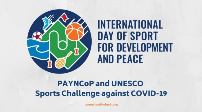 PAYNCoP/UNESCO Sports Challenge against Coronavirus (COVID-19) 2020 for Young Africans