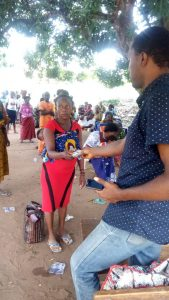 cash transfer Payment at Ugbeni Ward,Awka North Local Government Area, Anambra State.