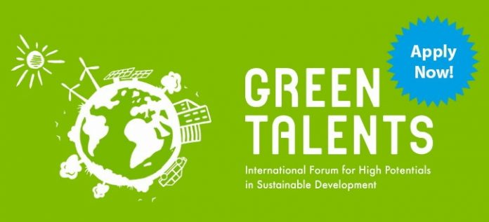 Green Talents Competition for Young Reserachers in Sustainable Development