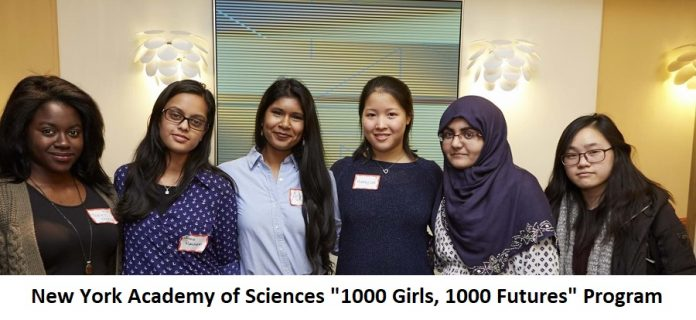 1000 Girls, 1000 Futures Program 2020 Application for Young Women in Stem