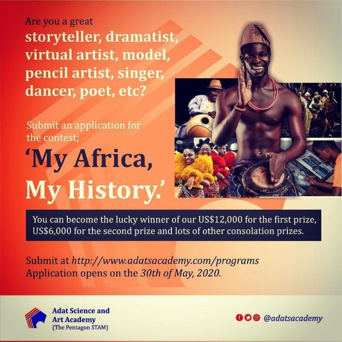 My Africa My History (MaMyh) Challenge Contest 2020 for African Creatives