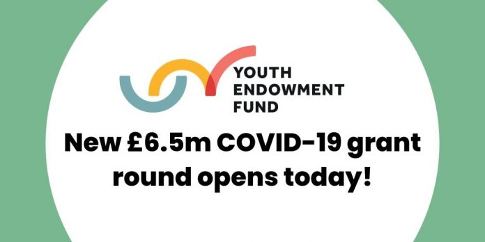 Youth Endowment Fund Covid-19 Fund for Organisation in England & Wales