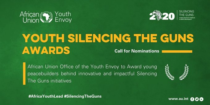 African Union Office Youth Silencing the Guns Award 2020 for Young Peacebuilders
