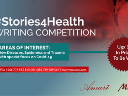 Amari Muwado #Stories4Health Writing Competition 2020 for African Writers