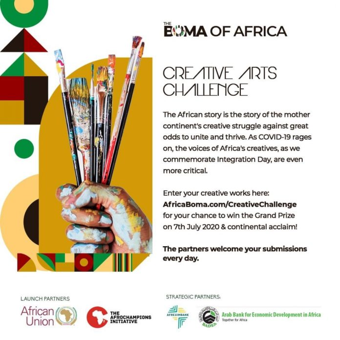 Boma of Africa Creative Arts Challenge for Africans 2020