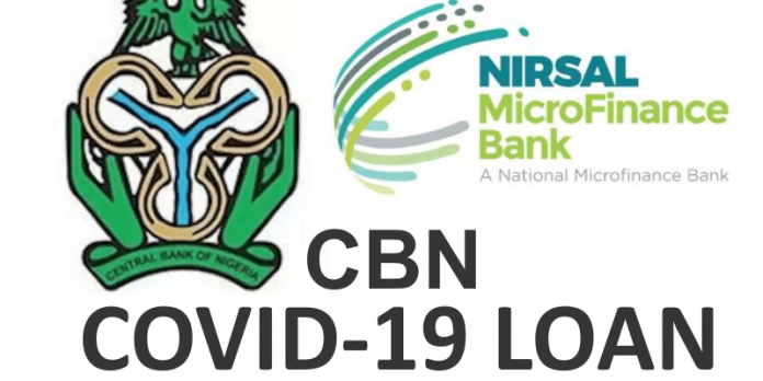 CBN Covid-19 Loan Portal-nmfb.com.ng-Submit Account -Loan approved