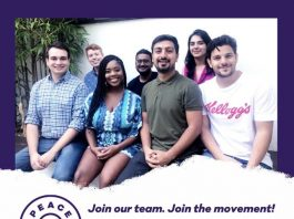 Fellow-in-Residence in Peace First for Emerging social change Leaders 2020