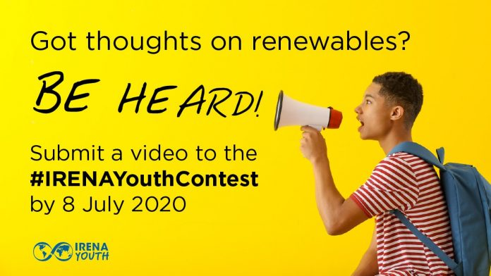 IRENA Youth Video Contest: Renewable Energy in the Time of COVID-19