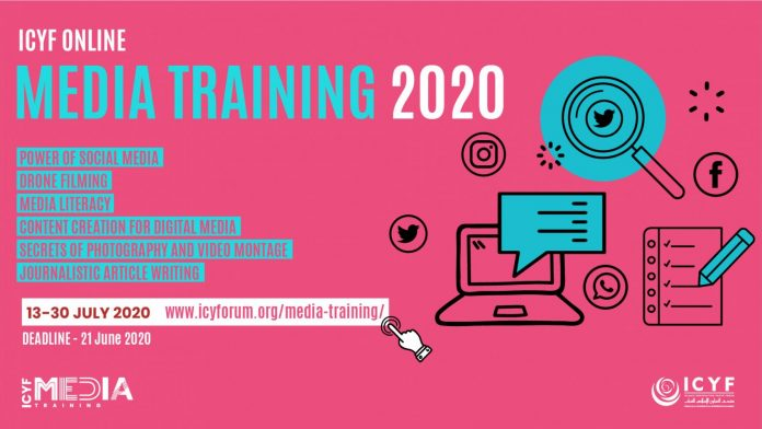 Islamic Cooperation Youth Forum (ICYF) 2020 Online Media Training Programme for Youths