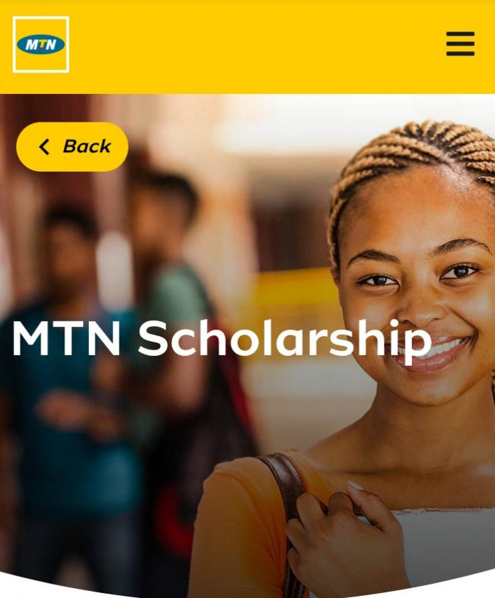 MTN SCHOLARSHIP 2020 APPLICATION FOR NIGERIAN STUDENTS