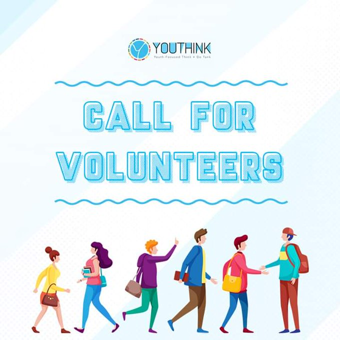 Youthink Center Call for Volunteers 2020 for SDGs Worldwide
