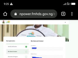How to login npower fmhds.gov.ng Profile | https://npower.fmhds.gov.ng/login