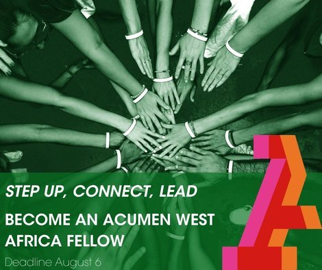 Acumen West Africa Fellowship 2020 Application for Young leaders in West Africa