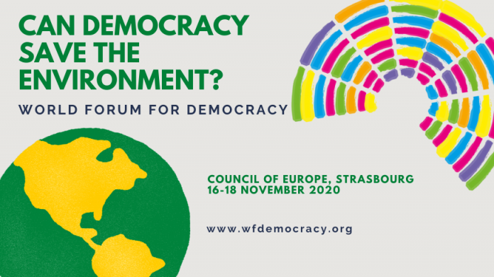 Application-World Forum for Democracy 2020 - Youth Delegation