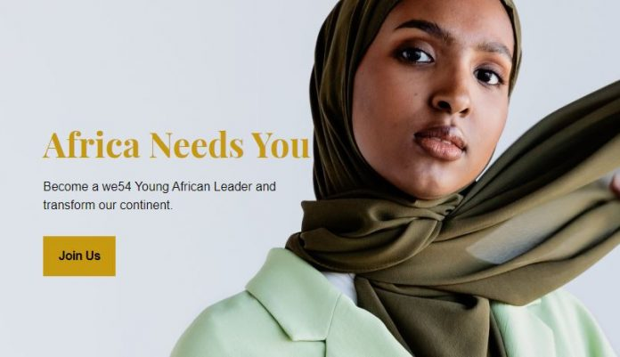 Apply - Become a WE54 Young African Leader 2020