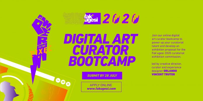 Fak'ugesi Festival 2020 Digital Art Curator Bootcamp for African Creatives
