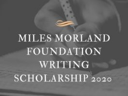 Miles Morland Foundation Writing Scholarship Application 2020 for African Writers