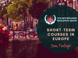 Netherlands Education Group Short Course Programs Application in Europe