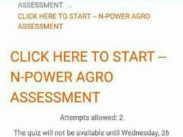 Npower News - Npower Agro Past Test Questions 2016 and 2017