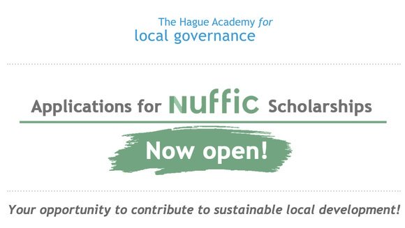 Nuffic Scholarships 2021 for Short Training Courses at the Hague Academy