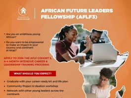 Studentshubgh African Future Leaders Fellowship 2020 (Cohort 3) for African Youths