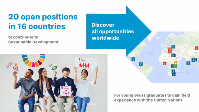 2020 United Nations (UN) Youth Volunteers Programme for Young Swiss Graduates