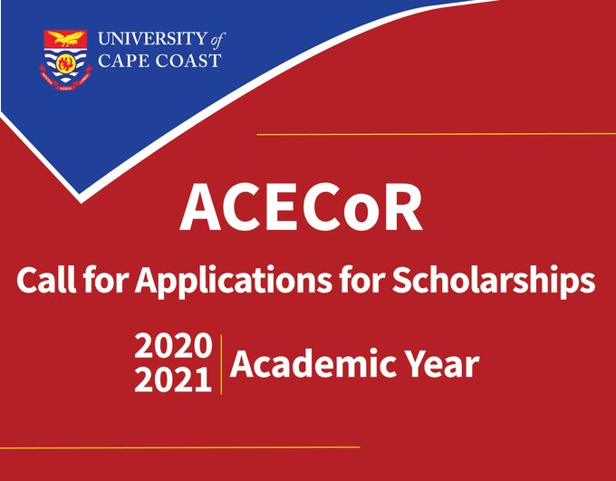 ACECoR Master & Doctorate Scholarship 2020-2021