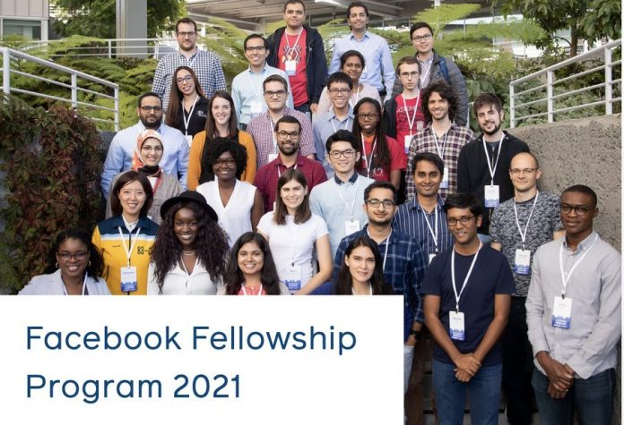 Facebook Fellowship Global Program 2021 for Doctoral Students