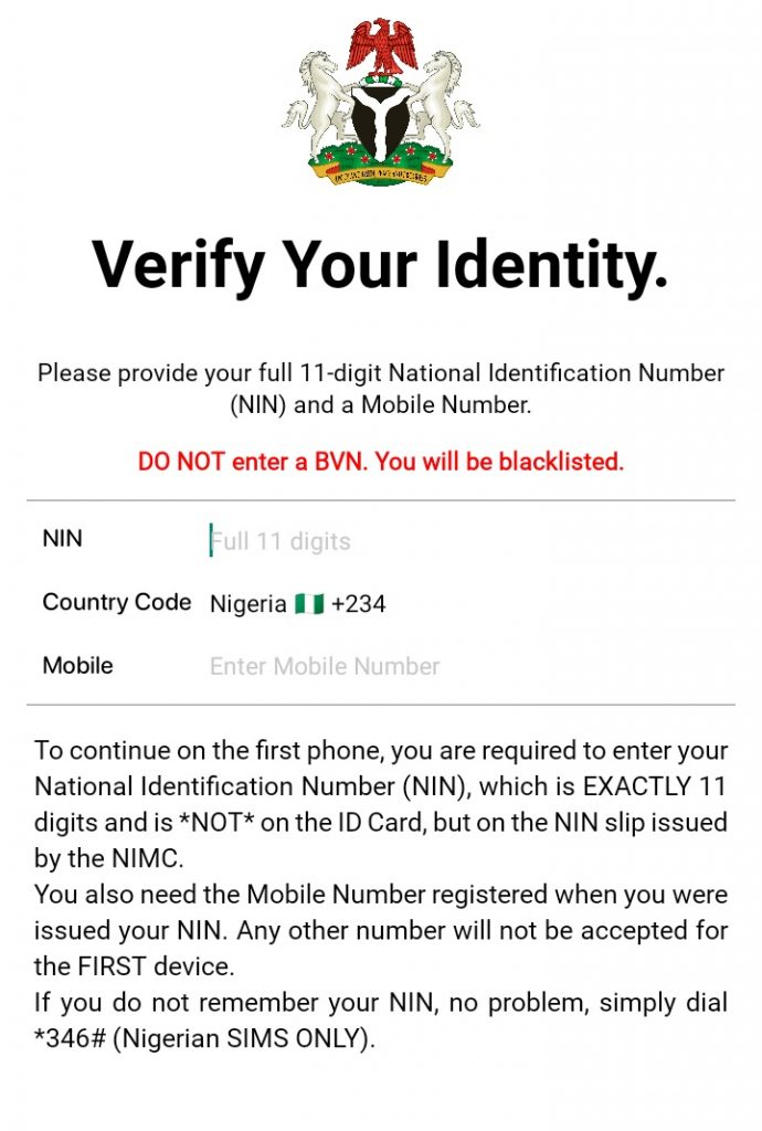 HOW TO GET YOUR NIGERIAN NATIONAL ID CARD (NIMC) ONLINE