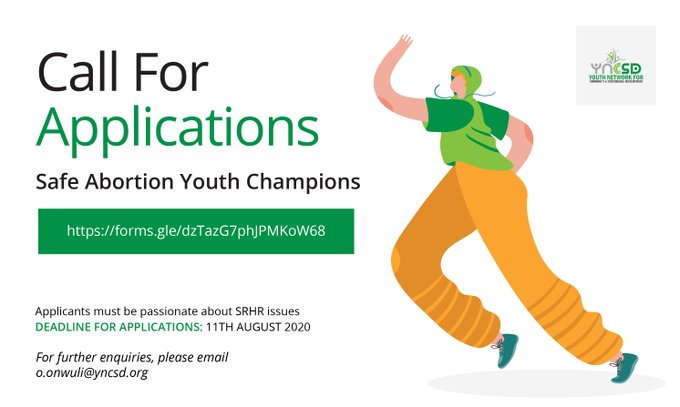 Safe Abortions Youth Champions Program for Nigerians