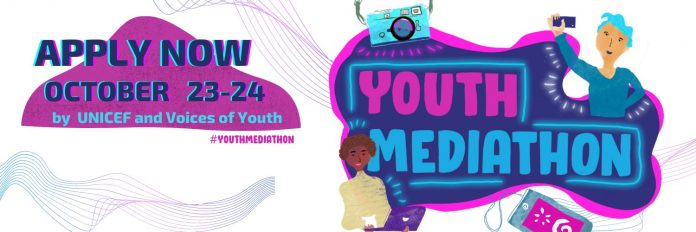 UNICEF's First Youth Mediathon Application 2020 for Content Creators