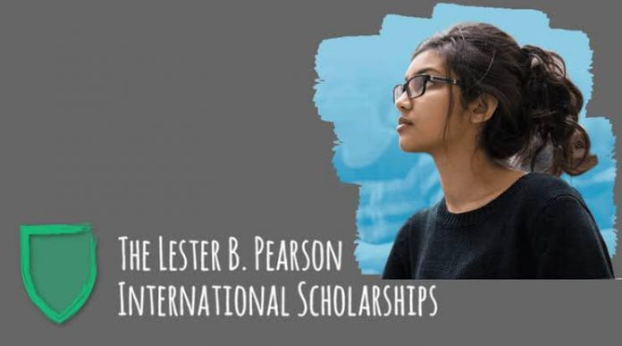 Lester B. Pearson International Student Scholarships 2021-2022