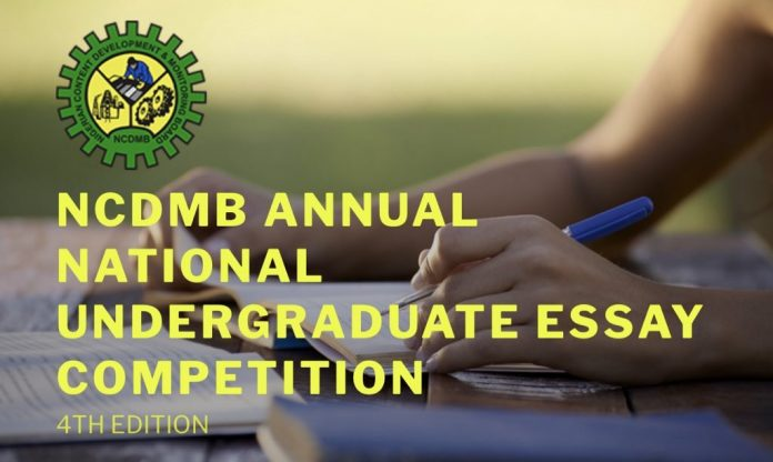 NCDMB Annual National Undergraduate Essay Competition 2020 for Nigerians