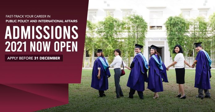 Public Policy and International Affairs Scholarships 2021 for study at Lee Kuan Yew School