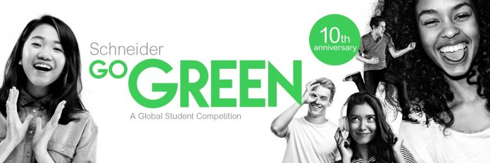 Schneider Go Green Global Student Competition 2021