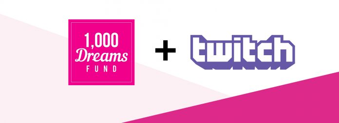 1,000 DREAMS FUND TWITCH BROADCASTHER GRANT 2020 APPLICATION