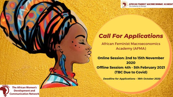 African Feminist Macroeconomics Academy (AFMA) Feminist Trade Policy Application 2020