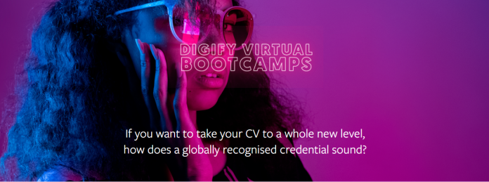 Facebook Digify Virtual Bootcamps 2020 for Young Africans